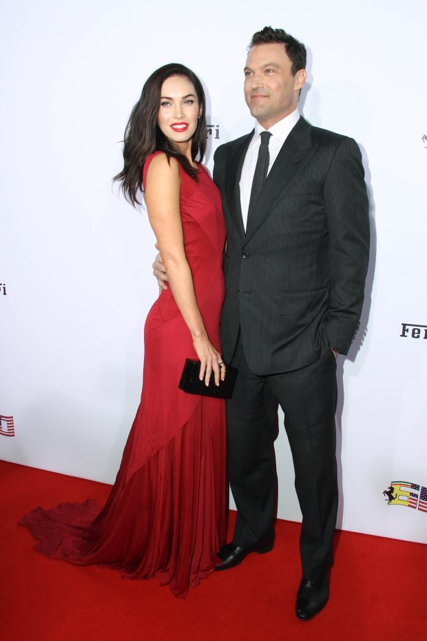 Brian Austin Green, Megan Fox  at the Ferrari 60th Anniversary In The USA Gala, Wallis Annenberg Center for the Performing Arts, Beverly Hills, CA 10-11-14 David Edwards/DailyCeleb.com 818-249-4998