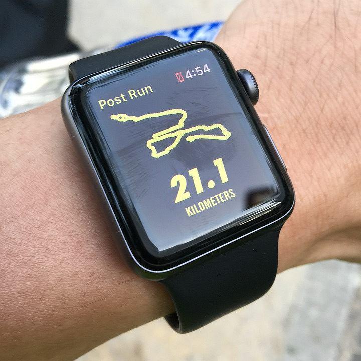 Zegarek do biegania, polska biega