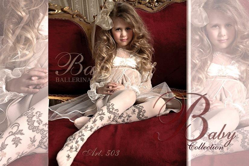 Dziewczynka w reklamie marki Ballerina