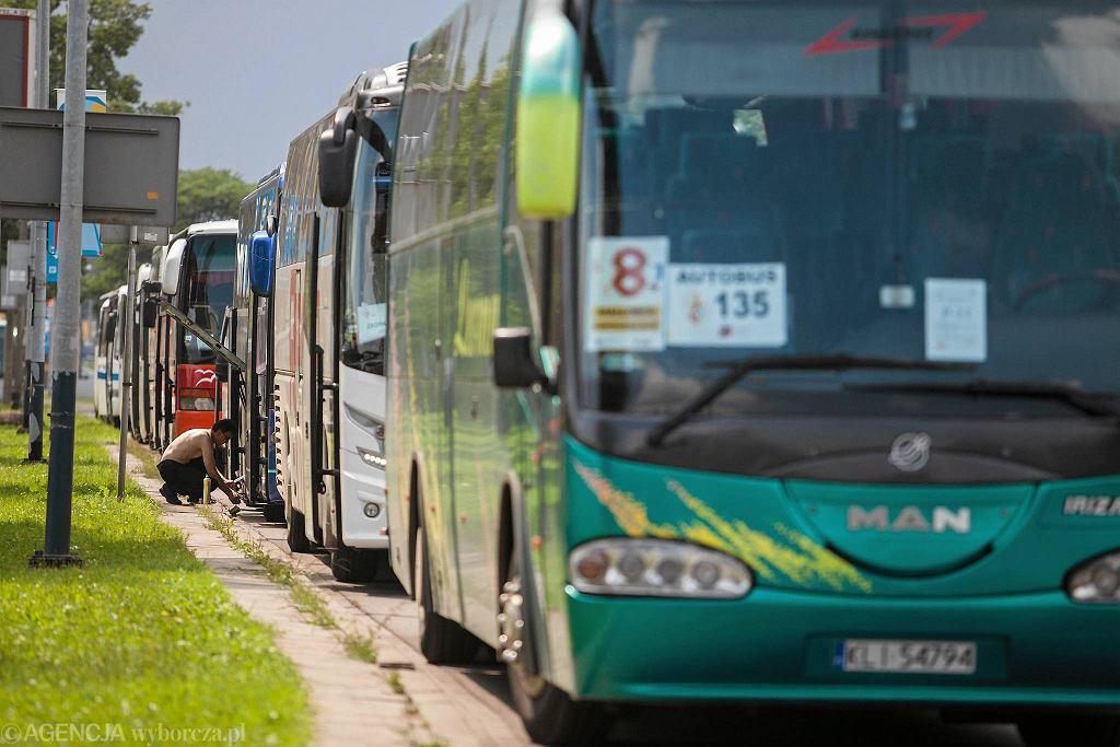 ŚDM. Parking dla autokarów na al. Jana Pawła II