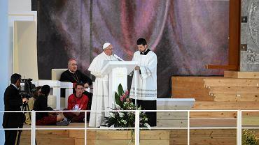 Czuwanie z papieżem Franciszkiem w Brzegach