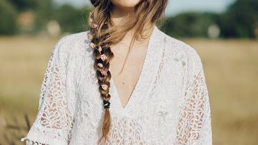 Braid,Flowers