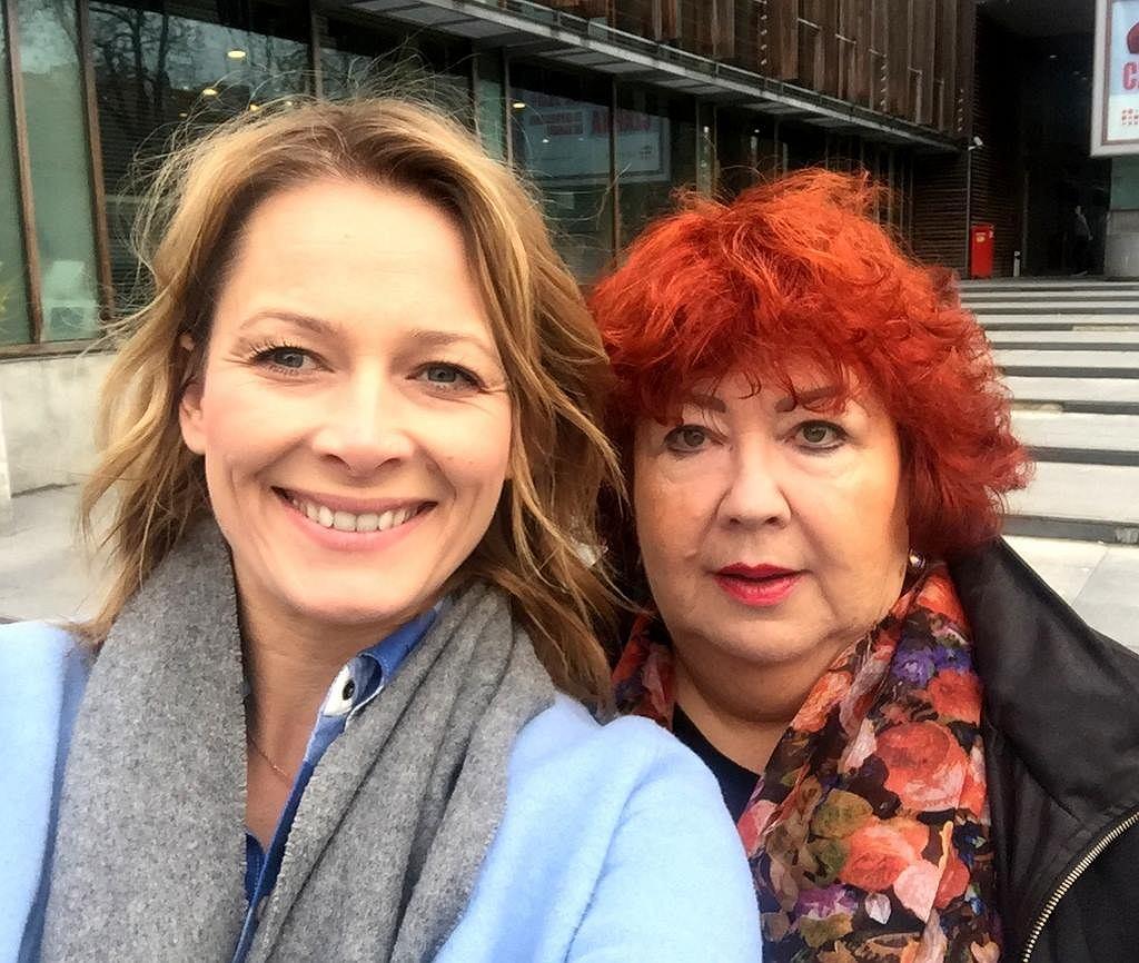 Odeta Moro i Katarzyna Miller w programie 'Morowy Weekend'