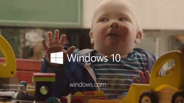 Windows 10 - kadr z reklamy