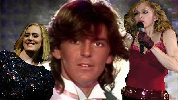 Adele, Madonna i Modern Talking