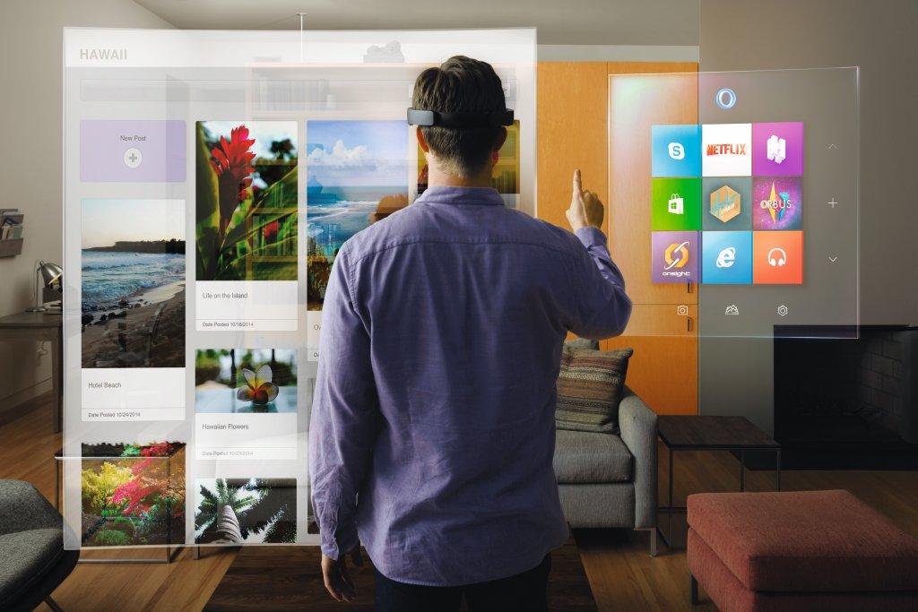 Microsoft HoloLens - Virtual Reality, czyli wirtualna rzeczywistość