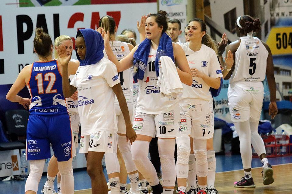 Piątek, 12 marca 2021 r. Faza play-off w Energa Basket Lidze Kobiet: POLSKASTREFAINWESTYCJI ENEA GORZÓW - ENEA AZS POZNAŃ 95:77