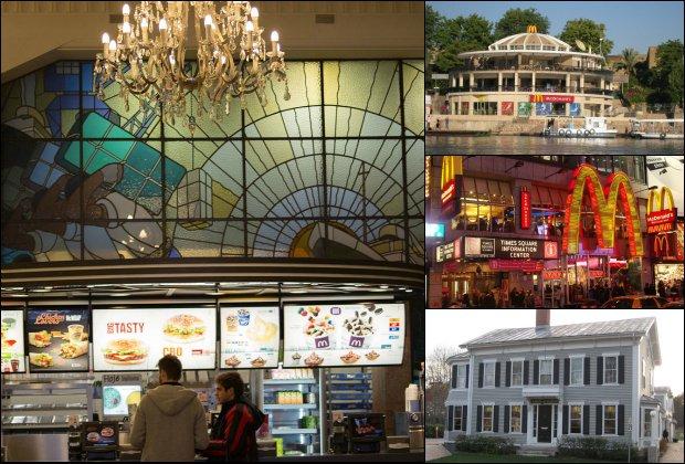 Myślisz, że McDonald's wszędzie wygląda tak samo? Zdziwisz się! Oto najciekawsze restauracje na świecie