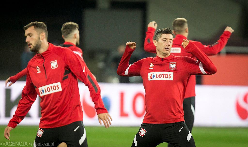 Robert Lewandowski przed meczem z Holandią z jesieni 2020 roku