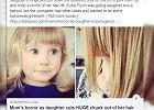 """Przycinała córce grzywkę. Nagle zauważyła, że jej córka też zabawiła się we fryzjerkę. """"Horror mamy"""""""