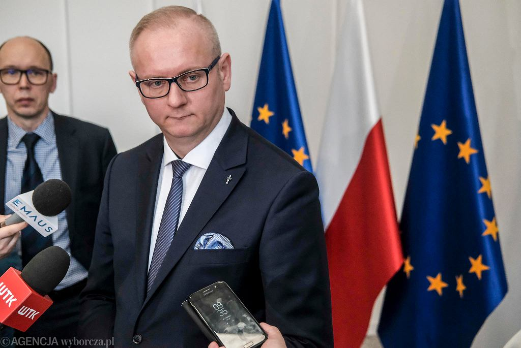 Wojewoda wielkopolski Łukasz Mikołajczyk (PiS)