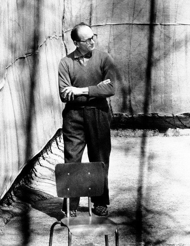 Adolf Eichmann po uprowadzeniu z Argentyny został uwięziony w ufortyfikowanym posterunku policji w pobliżu Hajfy