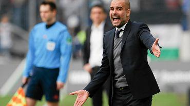 Trener Bayernu Pep Guardiola