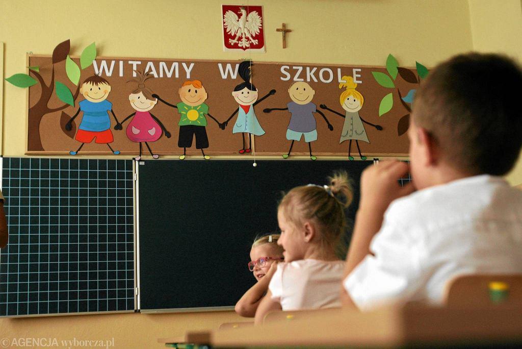 Początek roku szkolnego w lubelskiej szkole podstawowej