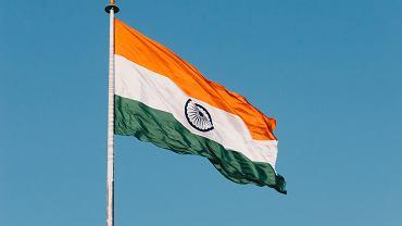 Flaga Indii (zdjęcie ilustracyjne)