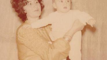 Martin Lewandowski z mamą Zofią