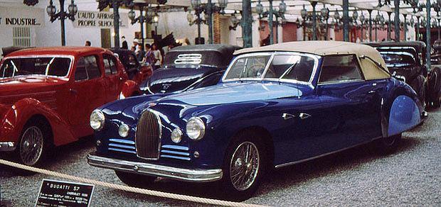 Bugatti: boskie automobile, logo z klasą, samochody, Bugatti Typ 57