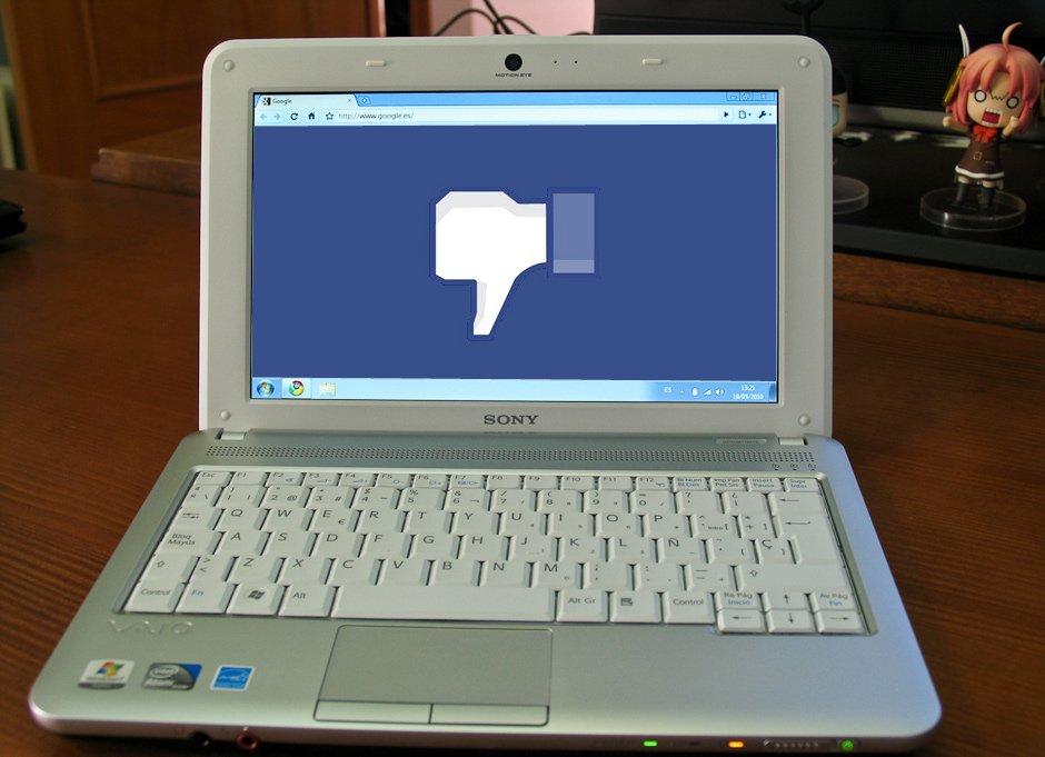 Użytkownicy starszych komputerów popsuli szyki Facebookowi