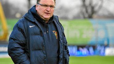 Czesław Michniewicz jest trenerem Pogoni Szczecin