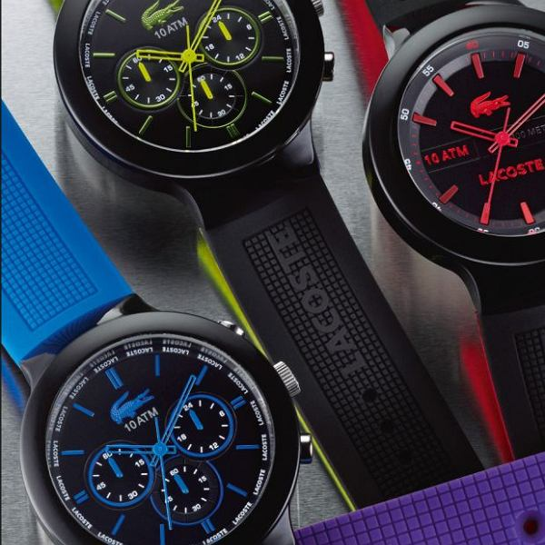 Zegarek z kolekcji Borneo Lacoste. Cena: 549-699 zł