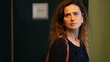 Agnieszka Grochowska jako Laura Goldsztajn w serialu 'W głębi lasu'