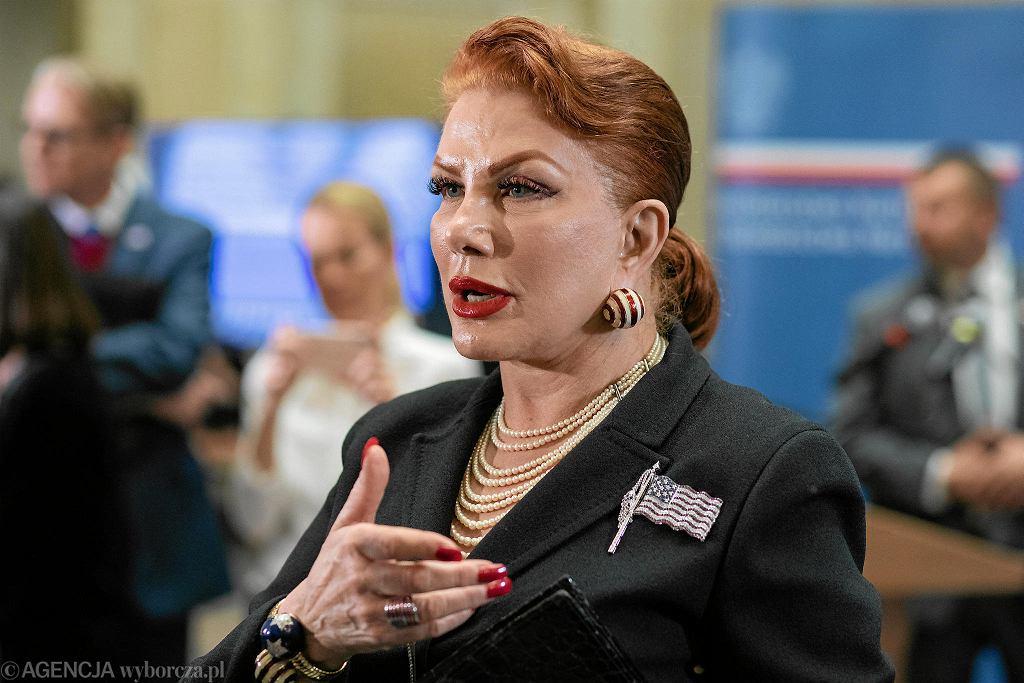 Ambasador Stanów Zjednoczonych w Polsce Georgette Mosbacher