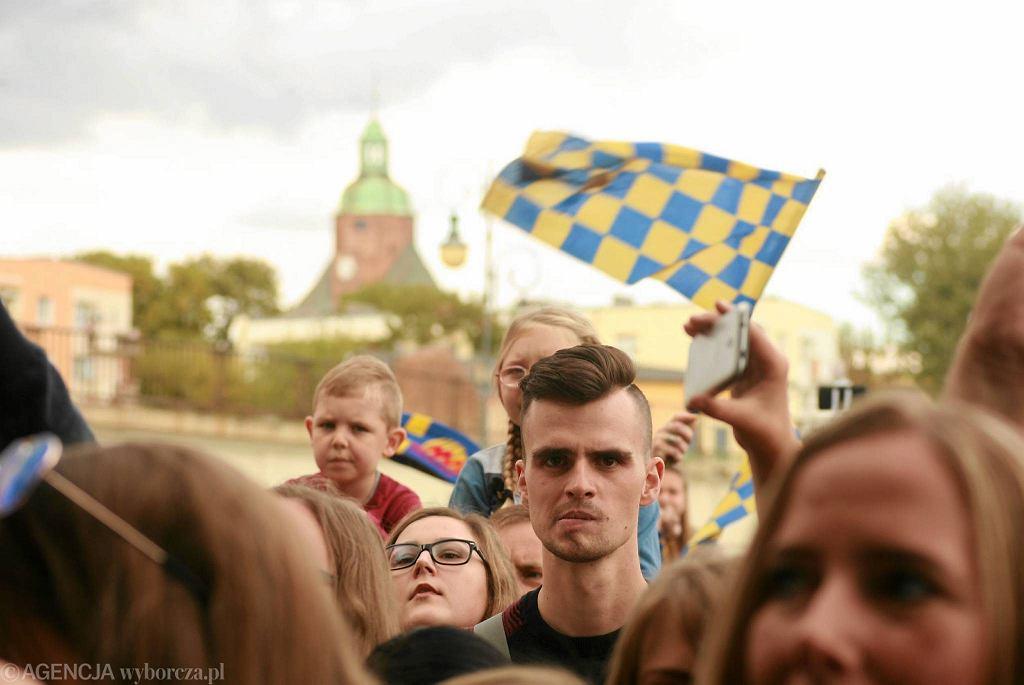 2 października 2016 r. Bulwar nad Wartą. Feta Stali Gorzów z okazji zdobycia dziewiątego tytułu mistrzów Polski