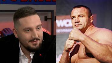 Michał 'Boxdel' Baron i Mariusz Pudzianowski