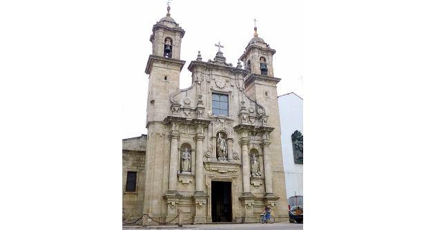 Kościół w A Coruna, w którym Elisa i Marcela wzięły ślub (fot. Domena publiczna)