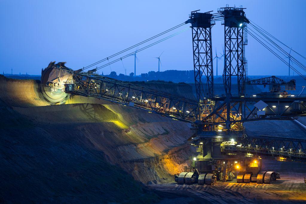 Niemcy. Kopalnia odkrywkowa węgla