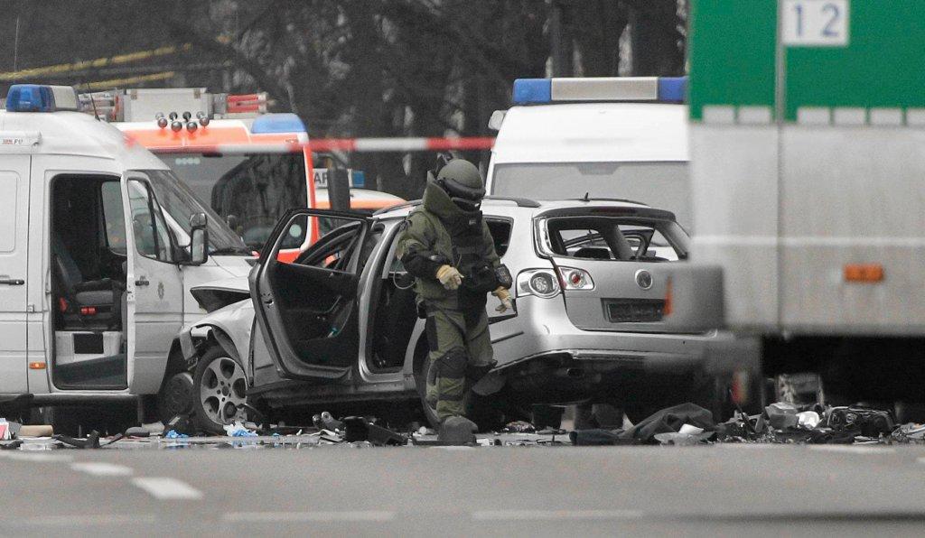 Wybuch w Berlinie