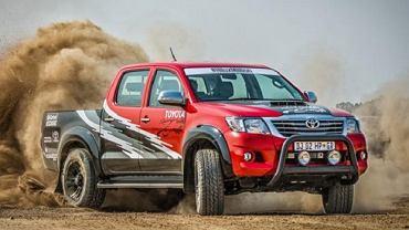 Toyota Hilux 455 KM z południowej Afryki
