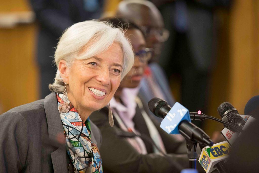 Christine Lagarde, dyrektor MFW