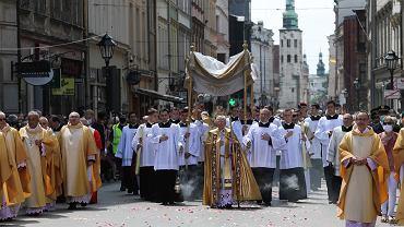 Boze Cialo w Krakowie