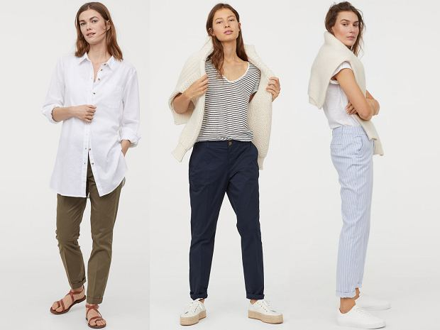 Spodnie chinosy można nosić na wiele sposobów