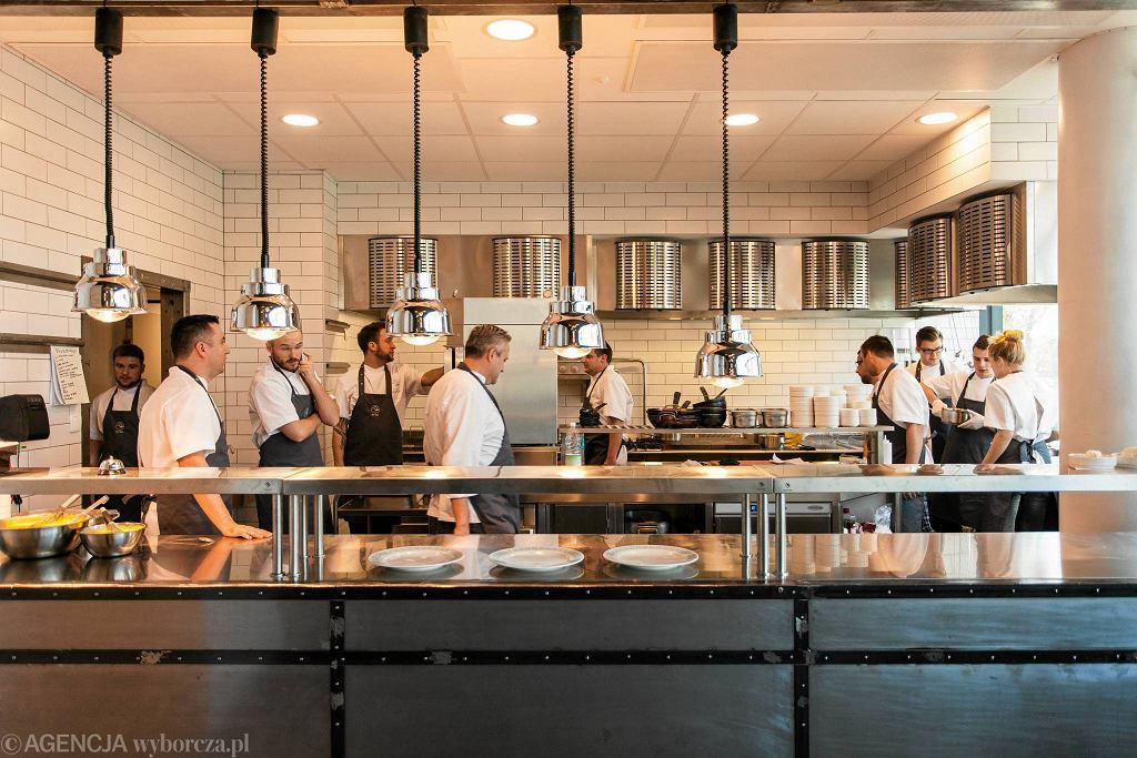 Restauracja Ed Red w Hali Mirowskiej / Fot. Dawid Zuchowicz / Agencja Gazeta