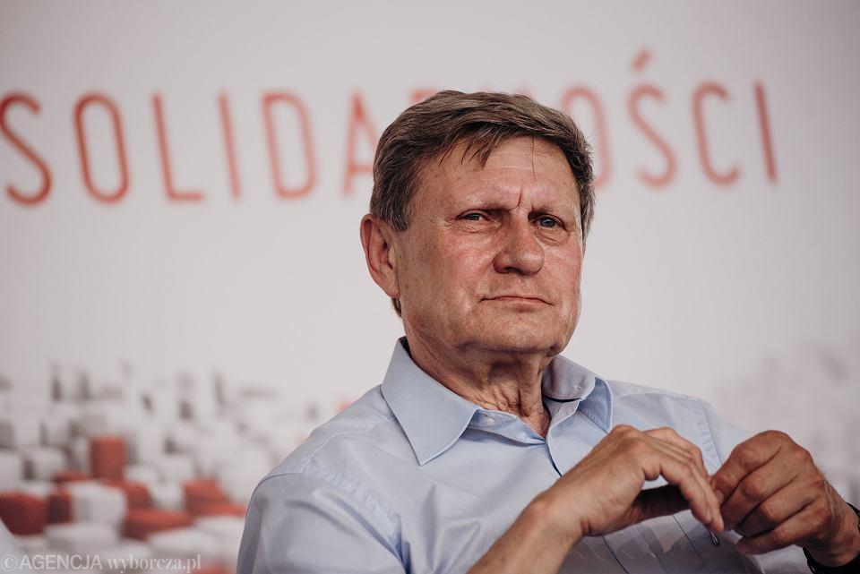 Leszek Balcerowicz w ECS. Gdańsk, 3 czerwca 2019