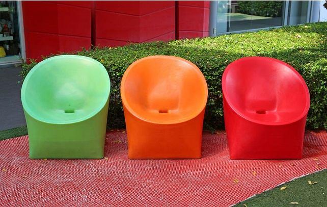 Plastikowe fotele ogrodowe