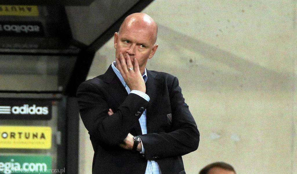 Legia - Zagłębie 2:2. Henning Berg
