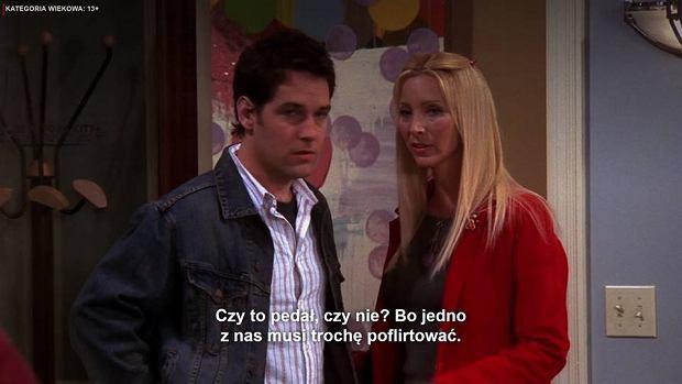 Oryginalny dialog w serialu 'Przyjaciele' nie jest homobiczny. Obraźliwe słowo na ekranie to twórczość tłumacza.