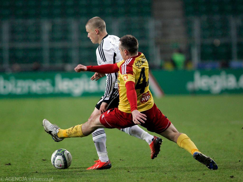 Paweł Golański wraca do składu na mecz z Podbeskidziem