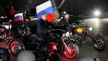 """Władimir Putin z """"Nocnymi Wilkami"""""""