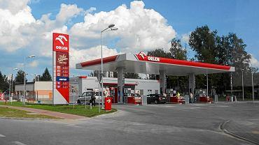 Stacja paliw Orlen w Kielcach.