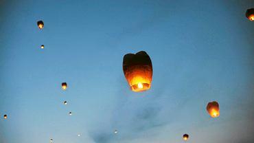 'Lampiony szczęścia stanowią zagrożenie dla środowiska' - ostrzega WWF.