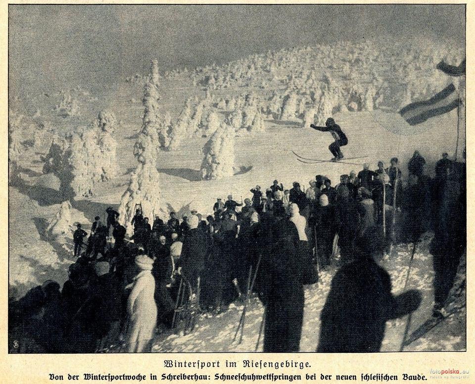 Skocznia koło Hali Szrenickiej