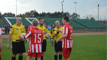 W Białobrzegach tym razem arbitrzy nie sędziowali