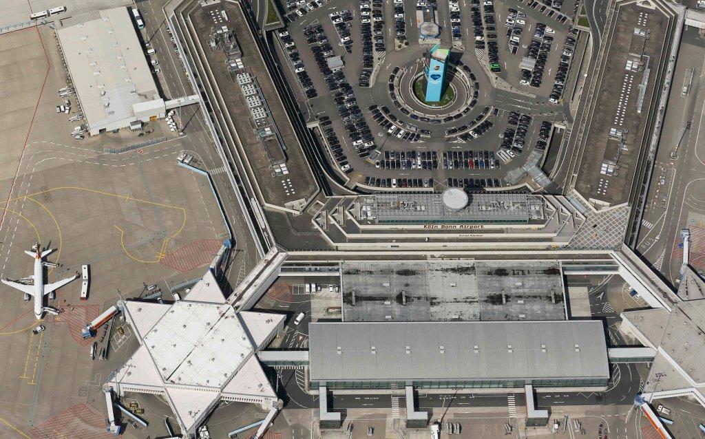 Niemieckie lotnisko Kolonia/Bonn