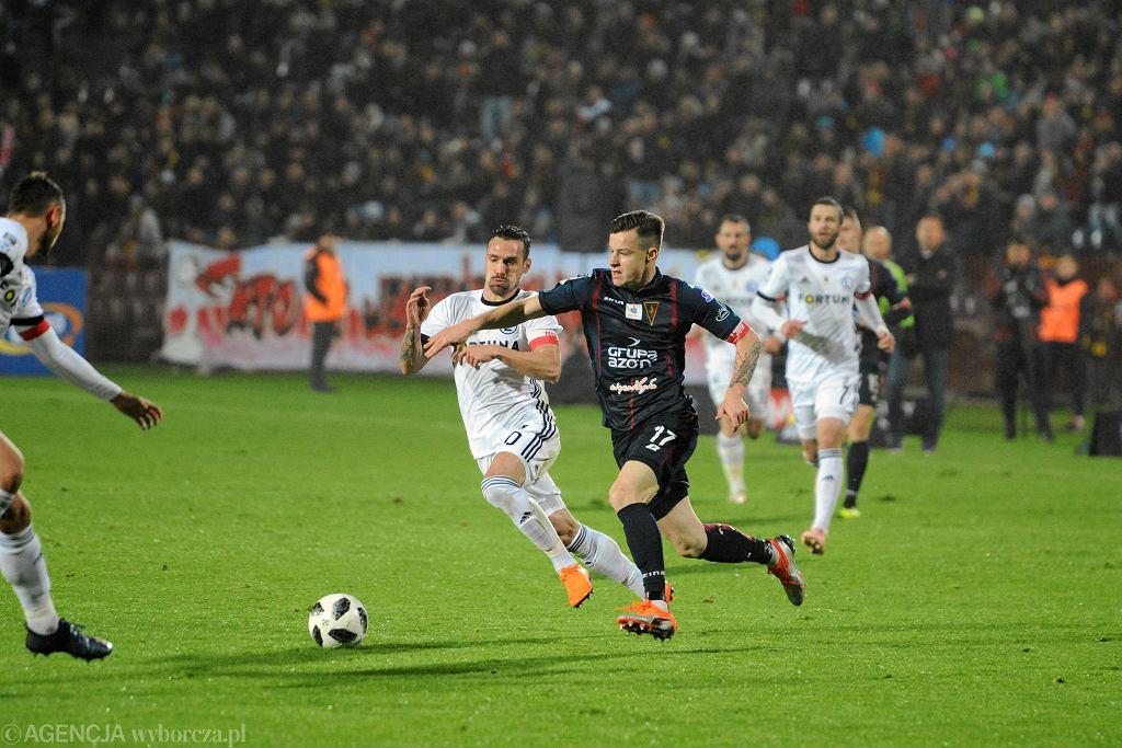 9 listopada 2018 r. Pogoń przegrała u siebie z Legią 1:2