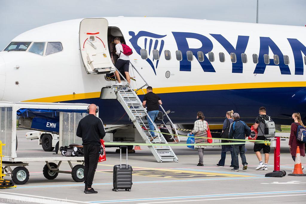 Promocja w Ryanair. Zdjęcie ilustracyjne