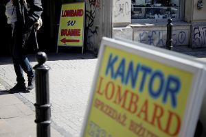 Lombardowa wolnoamerykanka. W Polsce można mieć zarejestrowany sklep mięsny i udzielać pożyczek pod zastaw